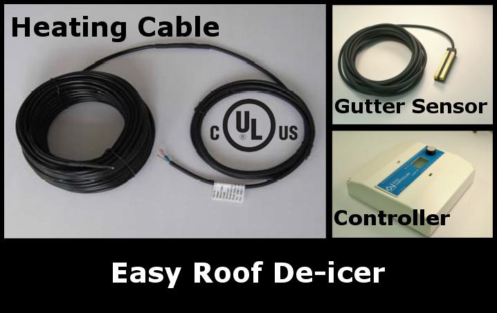 easy roof-deicer